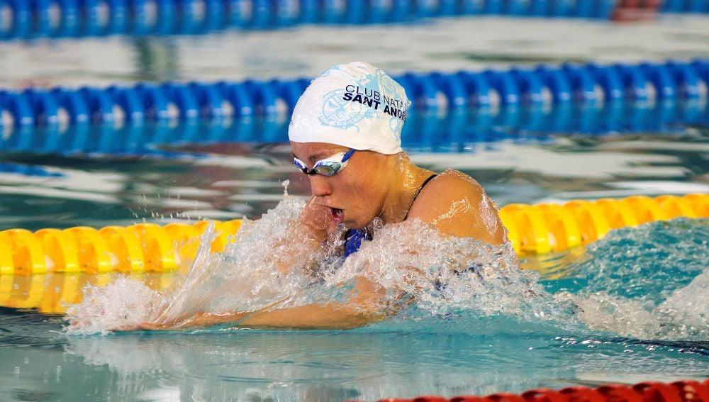 Jessica Vall en los Campeonatos de Europa