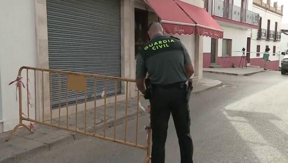 Imagen de archivo de un guardia civil en el lugar del suceso