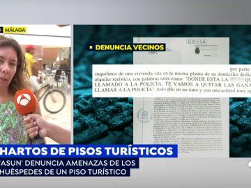 Los vecinos de Málaga al límite debido a los pisos turísticos