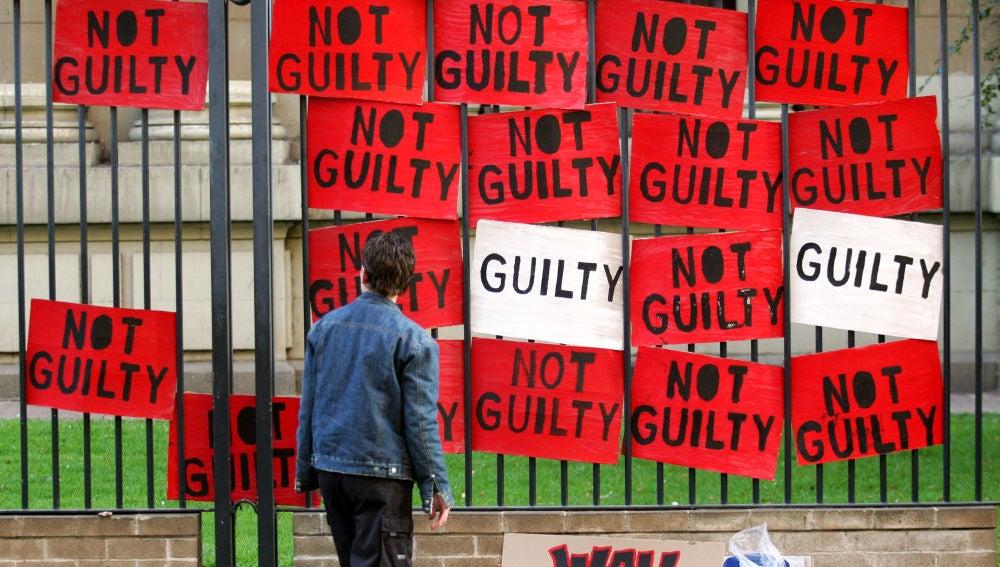 Protesta en otro caso de violación en Sudáfrica