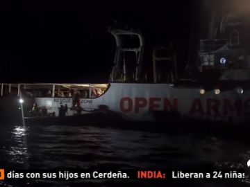 Algeciras espera la llegada del Open Arms con 87 inmigrantes a bordo