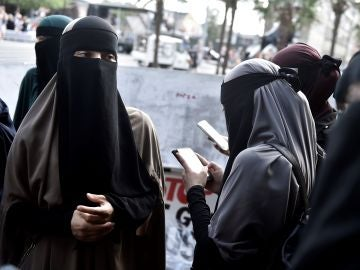 Mujeres sauditas