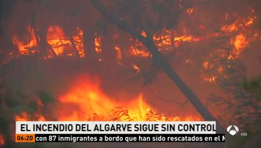 INCENDIO ALGARVE