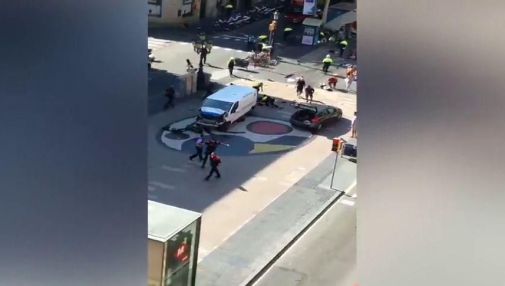 Los yihadistas atacan en Cataluña