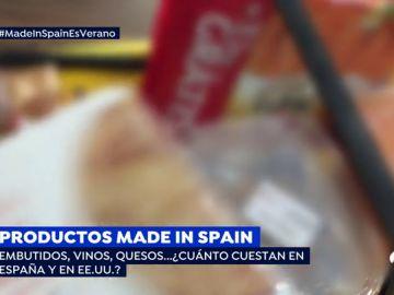 ¿A cuánto se venden los productos de alimentación españoles en el extranjero?
