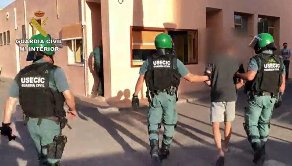 La Guardia Civil detiene a los presuntos autores de los robos de gasolineras en Granada