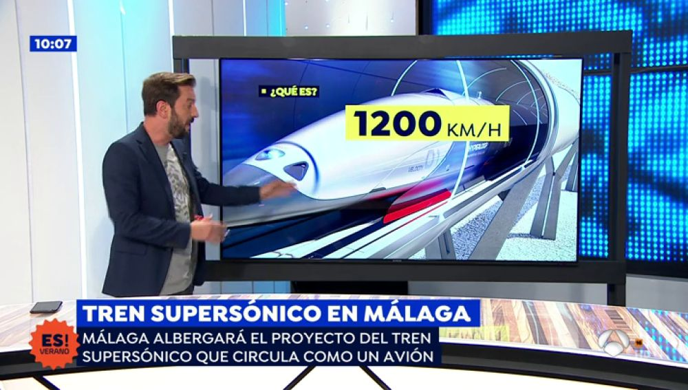 El transporte del futuro llega a Antequera, Málaga