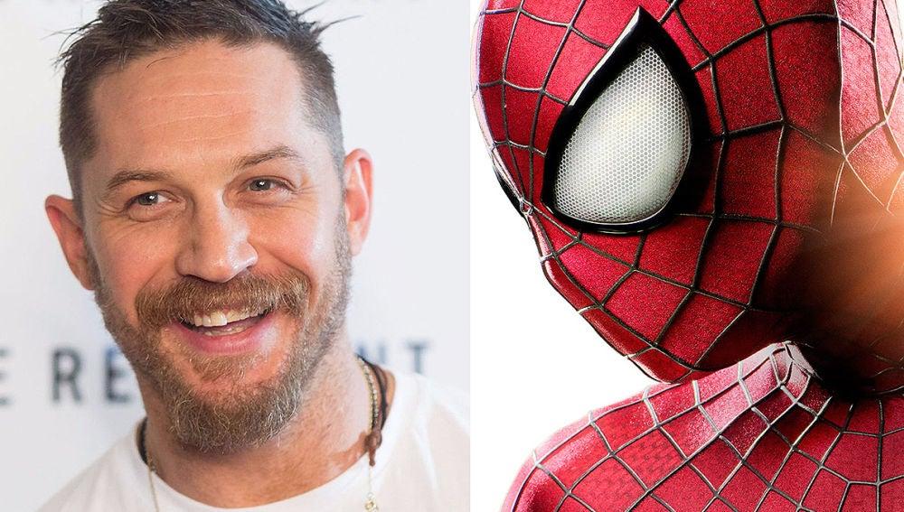 ¿Tom Hardy, SpiderMan?