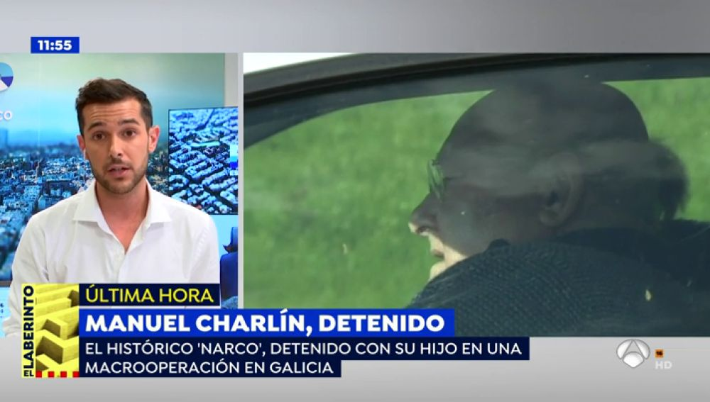 El histórico 'narco' Manuel Charlín es detenido en una macrooperación en Galicia