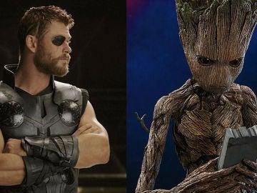 Thor y Groot