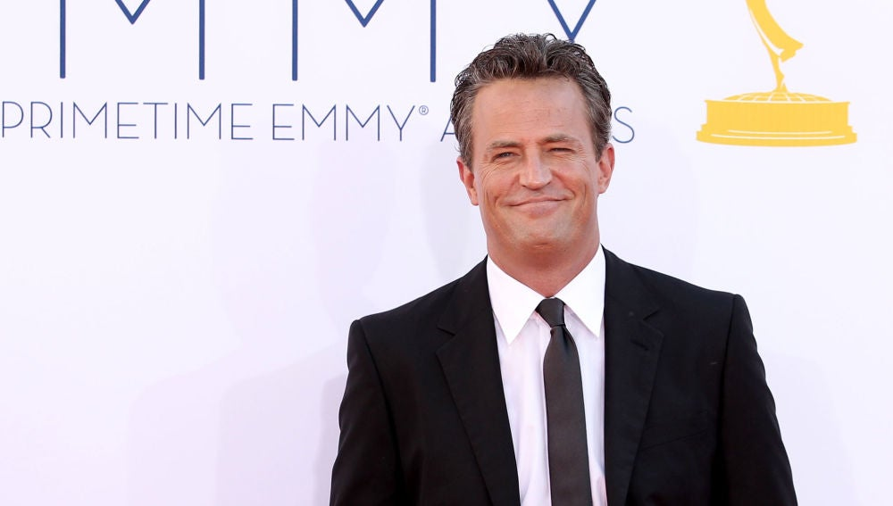 El actor Matthew Perry