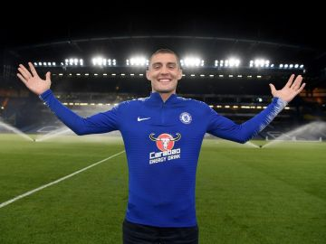Mateo Kovacic en Stamford Bridge