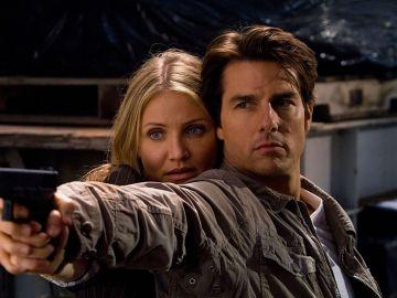 Tom Cruise y Cameron Díaz en 'Noche y día'