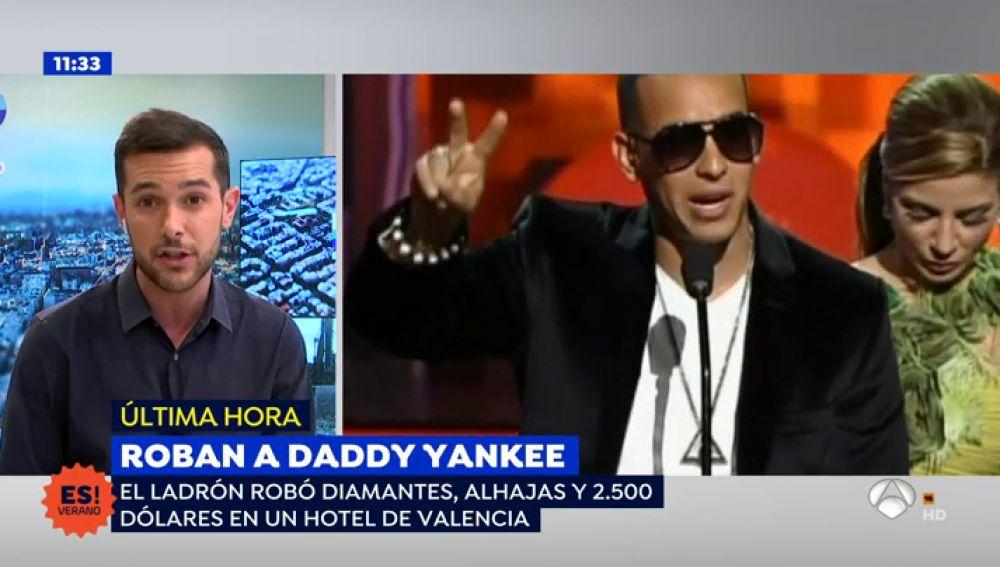 Daddy Yankee ha sufrido un robo millonario en un hotel de Valencia