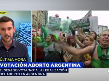 El senado rechaza legalizar el aborto en argentina