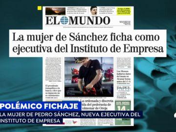 PP y Ciudadanos critican el fichaje de la mujer de Pedro Sánchez en el Instituto de Empresa