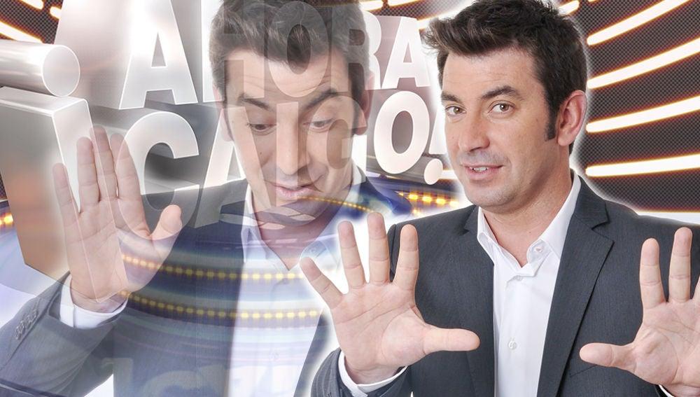 Arturo Valls, presentador de '¡Ahora Caigo!'