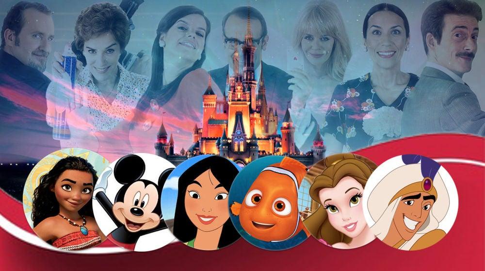 Los parecidos de los protagonistas de 'Amar es para siempre' con los personajes de las películas Disney