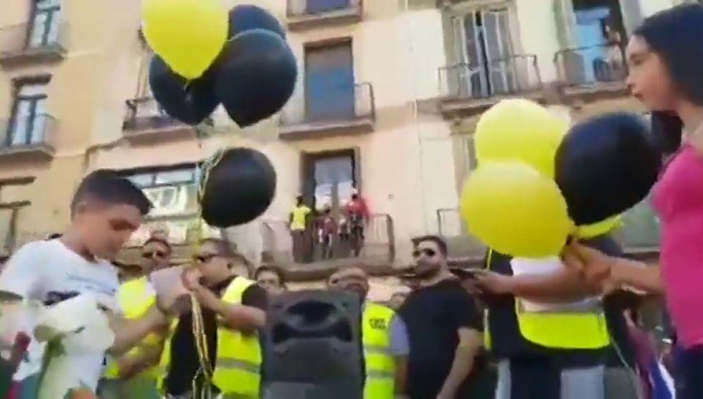 Asociaciones de taxistas de Barcelona organizan un homenaje a las víctimas de los atentados del 17A