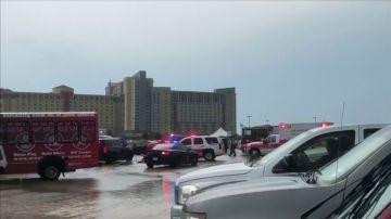 Una tormenta deja 14 heridos que esperaban en la cola para ver a los Backstreet Boys