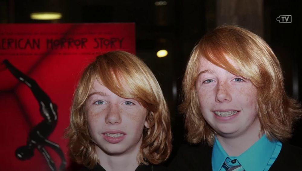 Así han crecido los gemelos de 'American Horror Story: Murder House'