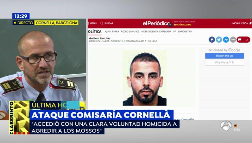 """Comes, comisario de los Mossos: """"Accedió con una voluntad homicida a agredir"""""""