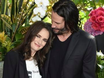 Winona Ryder y Keanu Reeves, la pareja del momento