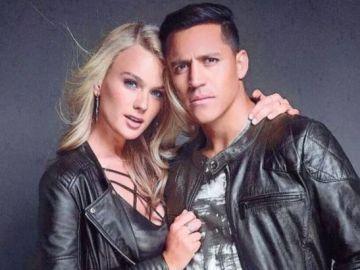 Alexis Sánchez, presentando su nueva marca de ropa