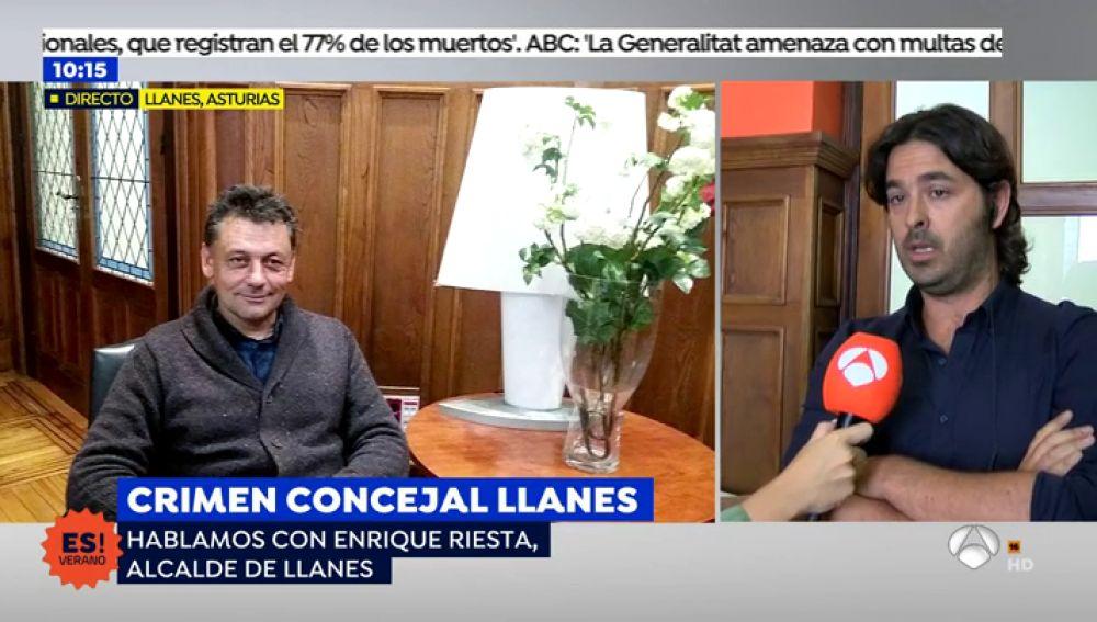"""Alcalde de LLlanes: """"Esperamos que paguen por el asesinato de Javier"""""""