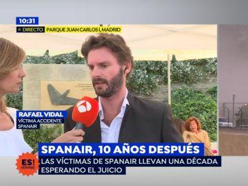 """Rafael Vidal, víctima del accidente: """"Hubo gente que se ahogo por la mala gestión"""""""