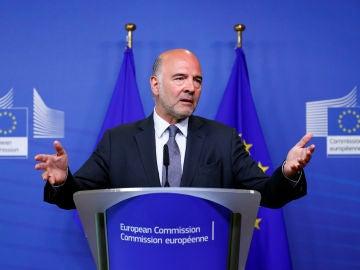 Pierre Moscovici, comisario europeo