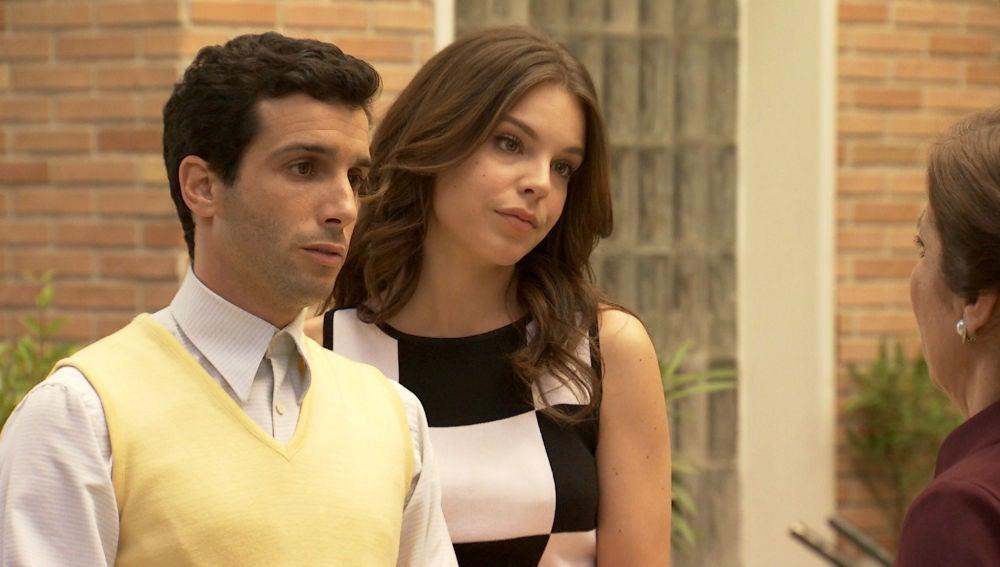 Ignacio se sincera totalmente con su madre y defiende su relación con María