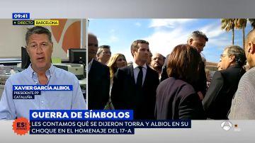 """García Albiol, sobre el desafío de Torra: """"Estamos peor que hace un año porque entonces el Gobierno tenía las ideas claras"""""""