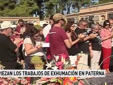 Empiezan los trabajos de exhumación de otra fosa común en el cementerio de Paterna