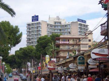 Hotel donde han sucedido los hechos en Mallorca