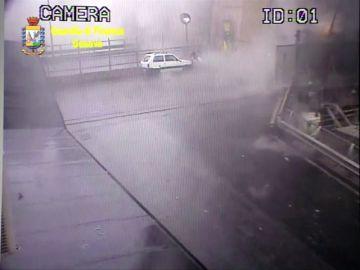 Nuevas imágenes del derrumbe del puente de Génova, en Italia