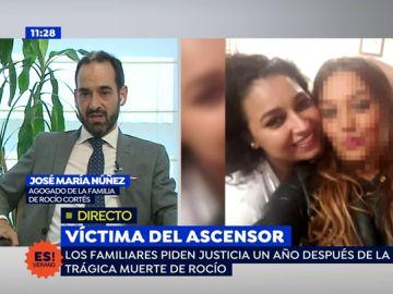 """Abogado de la familia de Rocío: """"La familia busca una explicación a lo ocurrido"""""""