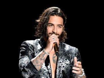 Maluma durante los MTV VMAs 2018