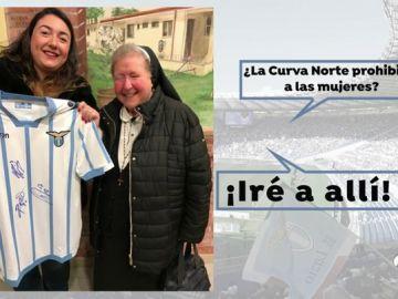 Los ultras de la Lazio prohíben la presencia de mujeres en el estadio hasta la fila 10