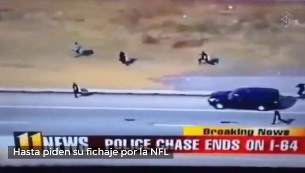 Piden su fichaje para la NHL: la brutal persecución policial que se ha hecho viral en EEUU