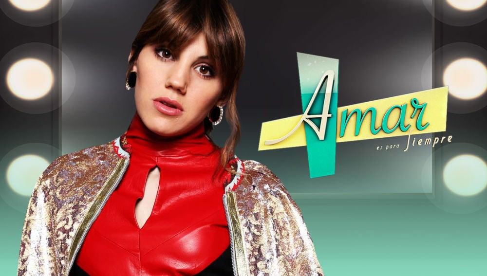 Angy Fernández muestra por primera vez el look de Nieves en 'Amar es para siempre' y se atreve con el nuevo reto viral