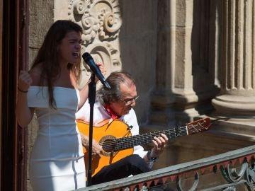 Amaia inaugura el Flamenco On Fire