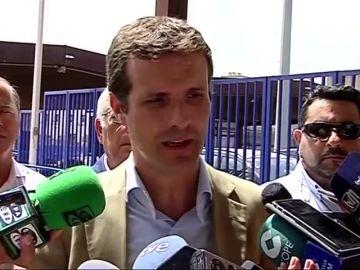 """Casado pide por carta a Marlaska que convoque el pacto antiterrorista: """"Está habiendo cierta radicalización en algunos colectivos en Cataluña"""""""