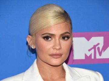 Kylie Jenner en la alfombra roja de los MTV VMAs 2018