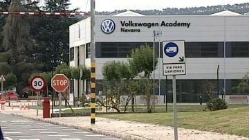 La planta de Volkswagen en Pamplona detiene su producción