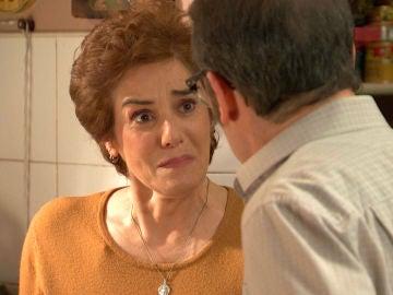 Benigna estalla y le cuenta su terrible secreto a Benito
