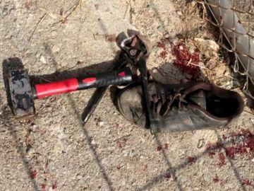 Los inmigrantes que han saltado la valla de Ceuta han utilizado objetos cortantes, cal viva y excrementos