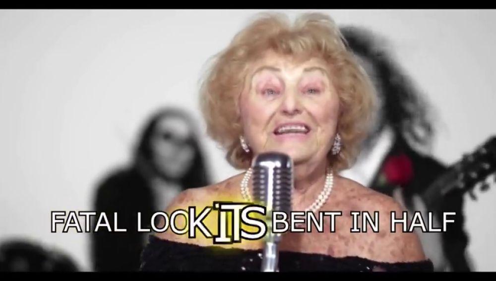 Una abuela sueiza conquista el mundo musical con sus temas de Heavy Metal