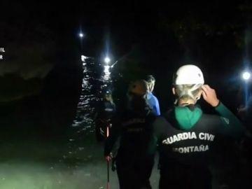 La Guardia Civil rescata a nueve barranquistas, entre ellos siete menores, en Alquezar (Huesca)