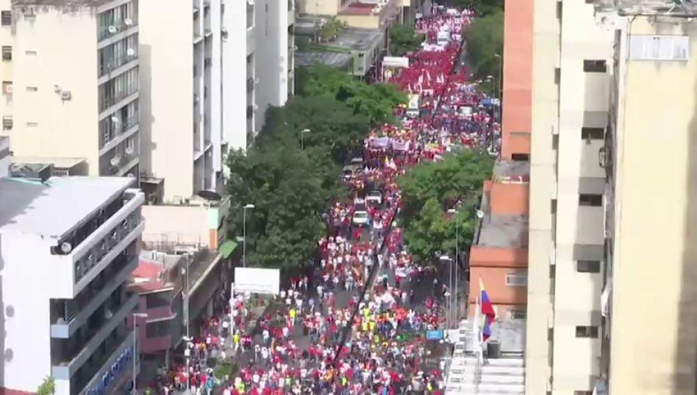 Jornada de paros en Venezuela contra las medidas económicas del régimen de Maduro
